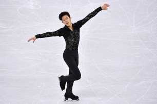 GANGNEUNG, SOUTH KOREA - FEBRUARY 17: Nathan Chen of United States competes in the men's short program during ISU Four Continents Figure Skating Championships - Gangneung -Test Event For PyeongChang 2018 at Gangneung Ice Arena on February 17, 2017 in Gangneung, South Korea. (Photo by Koki Nagahama/Getty Images)