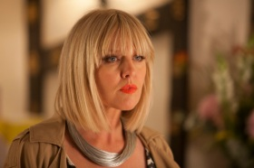 "Agatha Raisin Series 1, Episode 1 ""The Walkers of Dembley"" Sky 1 Ashley Jenson as Agatha Raisin"